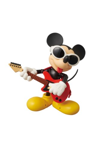 Medicom Disney x Roen Mickey Mouse Miracle Action Figure (Grunge Rock Version)