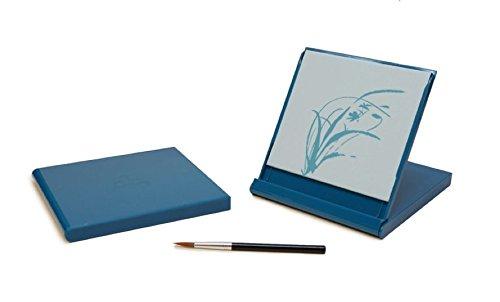 Mini Buddha Board, 5-inch x 5-inch, Aqua ()