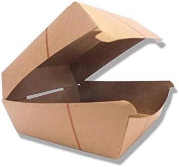 50 soportes para hamburguesas Panino de 12 x 12 cm para sándwich de papel para llevar Take Away: Amazon.es: Bricolaje y herramientas