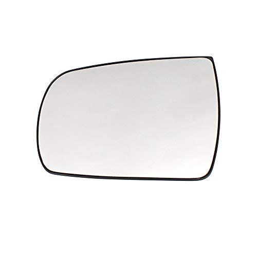 BROCK Drivers Side View Mirror Glass & Base Heated Left Replacement for 11-15 Kia Sorento 876111U100 876111U200