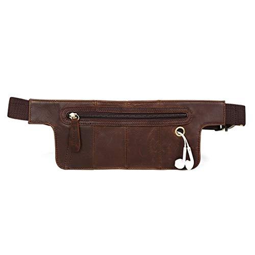 Sube Deporte Retro Camina Que del Chocolate Color FELICIAAPR Color para Color el sostenedor Cuero Cintura Bolso de teléfono del Viaje Chocolate Fanny Bolso la del Que Rq5wA