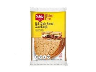 Schar Deli-Style Bread Sourdough Gluten Free - 8.5 oz Pack of 5 by Schar