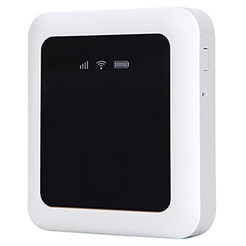 SODIAL Portable Hotspot Mifi 4G USB Wireless WiFi Mobile Router Fdd Cat4 100M LTE and Sim Slot Network Card