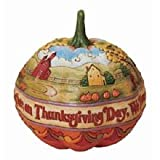 Enesco Jim Shore Heartwood Creek from Pumpkin Centerpiece Figurine 9.25 IN