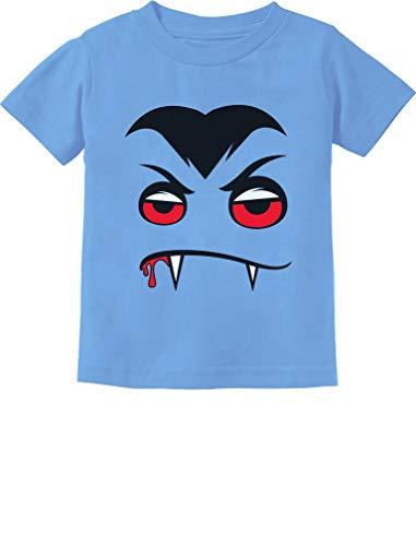 (Tstars - Vampire Face Halloween Easy Costume Toddler Kids T-Shirt 4T California)