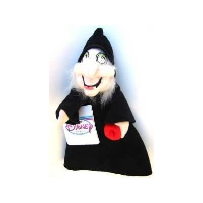 Disney Bean Bag Plush Witch from Snow White: Toys & Games