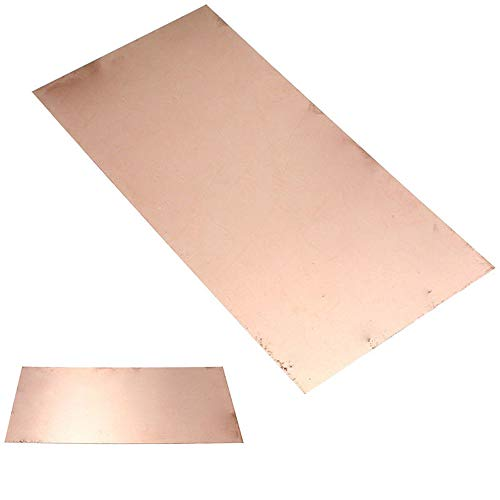 LTKJ 1pc Pure Copper Cu Metal Sheet Plate Foil Panel 0.5x100x200mm for Welding and Brazing