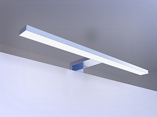 LED Badleuchte Spiegelleuchte 7W, 300mm Lichtfarbe wählbar IP44 integriertes Netzteil