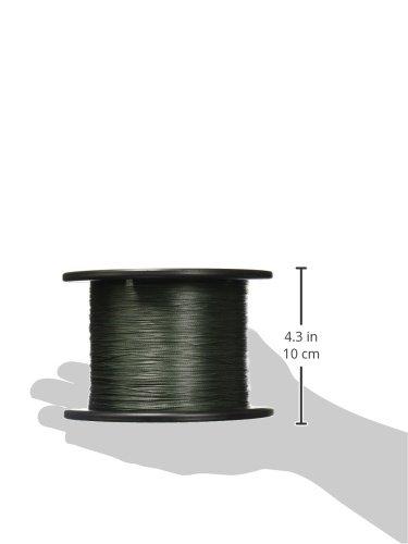 Power Pro Spectra Fiber Braided Fishing Line, Moss Green, 1500YD/80LB