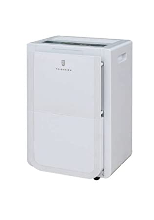 Front Bucket and Continuous Drain Friedrich D50BP 50 Pint Dehumidifier with Built-In Drain Pump