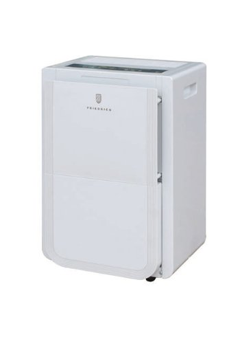 Best Prices! Friedrich D25DA 25 Pint Dehumidifier - Front Bucket and Continuous Drain Option. Non-En...