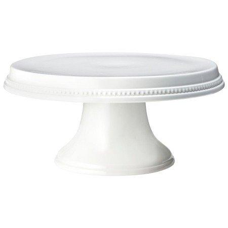 New Beaded Cake Stand White ()