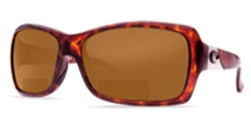 - Costa Del Mar C-Mates Islamorada Adult Polarized Sunglasses, Tortoise/Dark Amber CR-39, Small