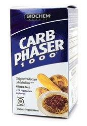 Biochem Carb Phaser 1000, 120 capsules végétariennes