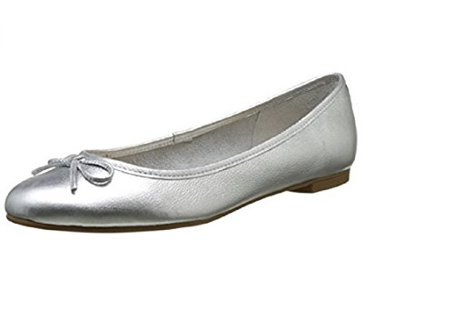 Silver Donna 2590 Argento Leather London ZS Buffalo Vegetal Ballerine 16 z60xqwqF