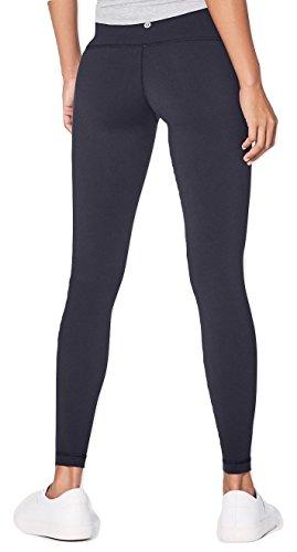 Lululemon Wunder Under Pant III Yoga Pants (Navy Blue, 10) (Wunder-shop)