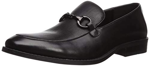 Unlisted by Kenneth Cole Men's Half Time Play Loafer Black 9.5 M US