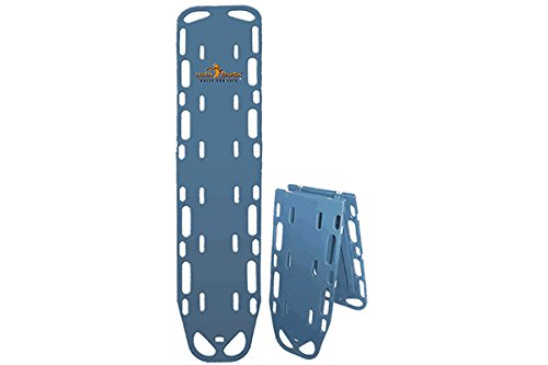 Iron Duck 35940-Blue Ultra Space Save Folding Spinal Immobilization Backboard (Long Spine Board)