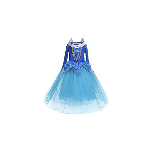 Girl Costume Snow White for Girls Prom Princess Instant Party Clothes Fancy Teenage,Style 8-Blue,9]()
