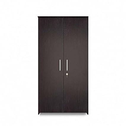 Normal Mehu 2 Door Wardrobe Black (Wenge)