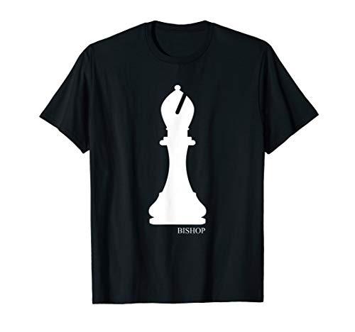 Bishop Chess Piece Halloween Costume Chess Club Shirt
