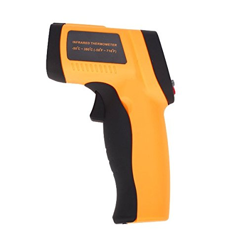 GM300 Non-contact IR Laser Infrared Digital Thermometer - Measurement Range: Between -50 ° C and 380 ° C (Between -58 ° F and 716 ° F) Generic 606-80-007