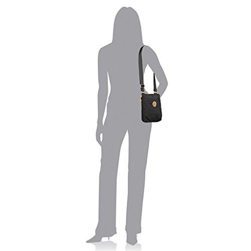 Purce Mini Baggallini Bundle Fob Bag RFID Travel Black Key Light Hanover wXX56qnr