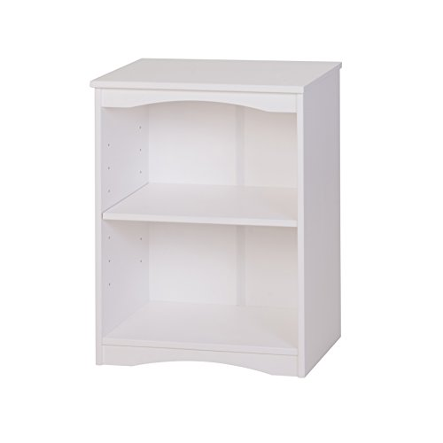 Camaflexi Essentials Wooden Bookcase, 30.5''H x 23''W x 12''D, White by Camaflexi