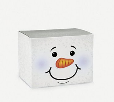 Fun Express Holiday Snowman Gift Boxes - 1