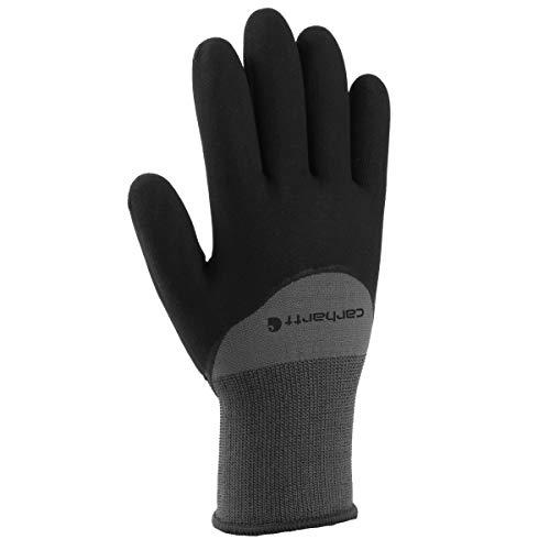 Carhartt Men's Thermal Dip Glove, Grey, Large
