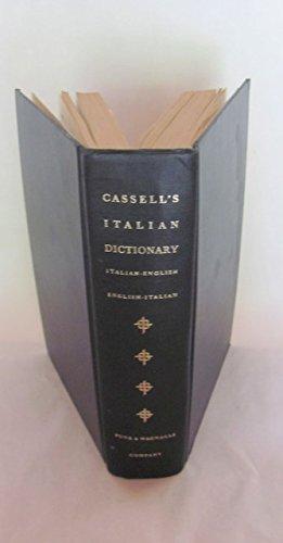 Cassell's Italian Dictionary : Italian/English, English/Italian