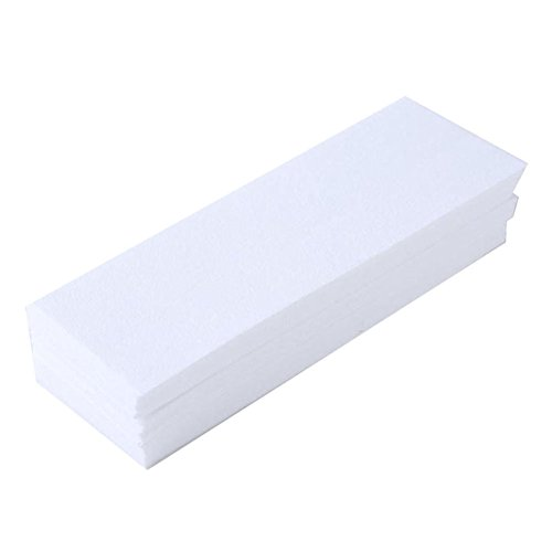 100 Pcs Hair Removal Paper Safe Painless Non-woven Fabric Epilator for Face Underarms Arm Leg Skin Beauty Care