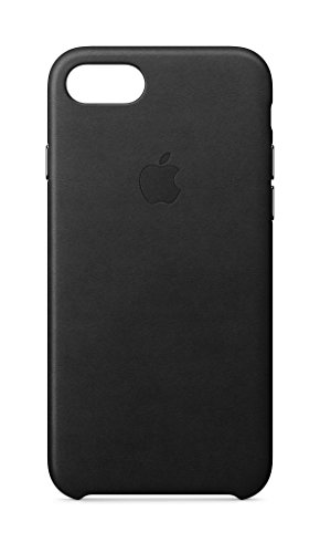 Apple iPhone 8 / 7 Leather Case – Black