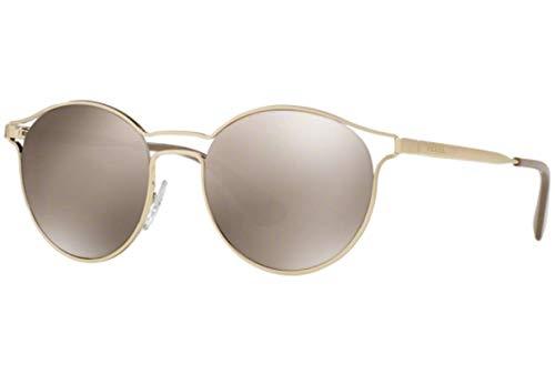 Prada Women's 0PR 62SS Pale Gold/Light Brown/Mirror Gold