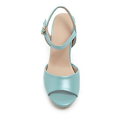 Patent Sandals Girls 5 7 M Blue Leather Heels High US 1TO9 B Rain wRqAXxx