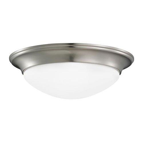 (Seagull 79435BLE-962 Two Light Flush Fixture)