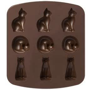 muji japan silicone cake mold cats type kitchen dining. Black Bedroom Furniture Sets. Home Design Ideas
