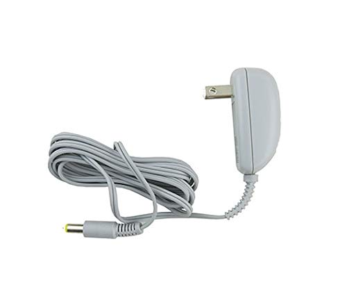 Replacement AC Adapter (adaptor)/Power Plug Cord (Dark Gray) for Fisher Price Rock 'n Play Vibrating Sleeper.