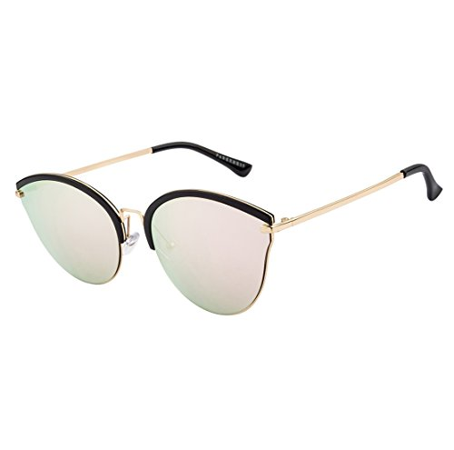 Farenheit Cat's Eye Sunglasses|FA-79151-C7-Pink-M|