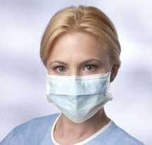 Disposable Pleated Earloop Face Masks (Pack of 1000) by Nobles Health Care Product