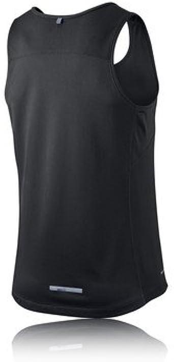 Nike, Canotta da Running Uomo, Grigio (AnthraciteReflective