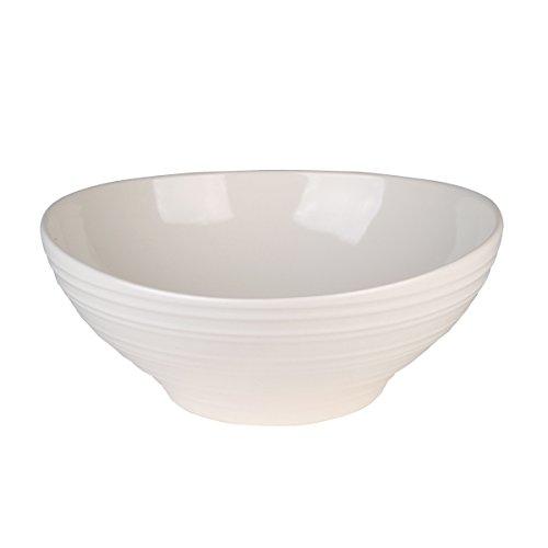 Mikasa Swirl White Vegetable Bowl, -