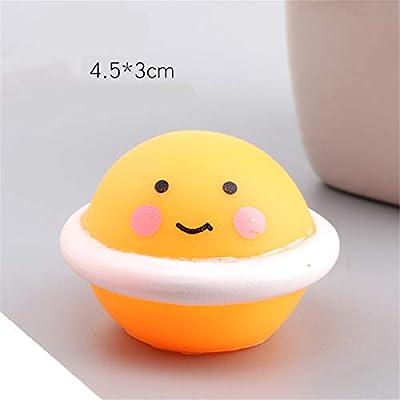 sara-u Cute Furits Shape Antistress Ball Squeeze BiBi Sound Mini Bath Toy: Home & Kitchen