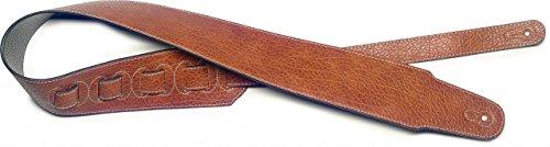 Stagg SFL 20 BRW Leatherette Guitar Strap - (Leatherette Strap)