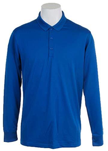 NIKE ナイキ DRI-FIT ビクトリー ゴルフウェア 長袖ポロシャツ Lサイズ(176-183cm) 国内正規品 725515 ゲームロイヤル