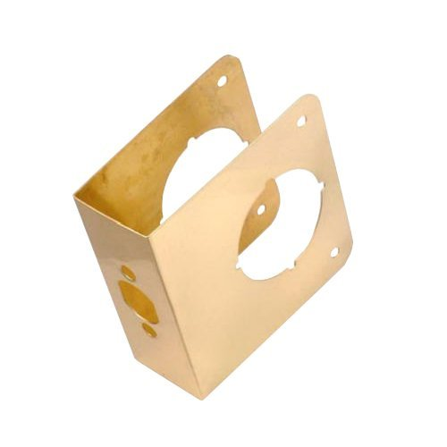 Belwith Products 2061-PB Door Reinforcer, 4-1/2-Inch, Polished Brass by BELWITH PRODUCTS LLC