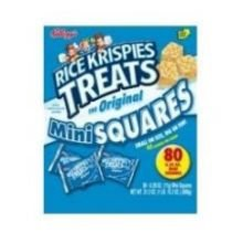 Rice Krispies Treats Original Mini-Square Cereal, 0.39 Ounce -- 600 per case. by Kellogg's