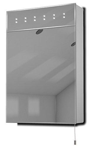 Sheva LED Battery Bathroom Mirror Cabinet Pull Cord k141 (Shaving Mirror Pull)