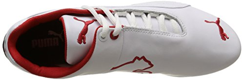 Bianco da Adulto PumaFuture Unisex – Basse Leather SF White Cat Ginnastica White Blanc Scarpe qqxnIvHSw