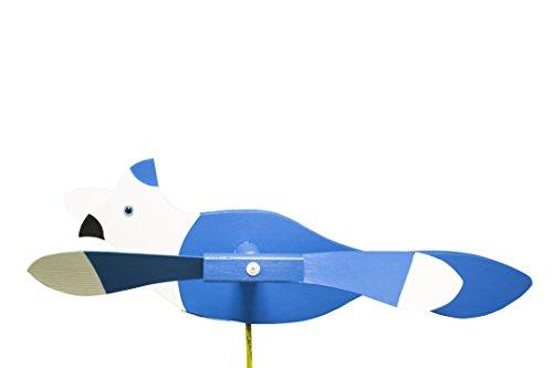 Blue Jay Whirligig / Whirly Bird Garden Spinner ()